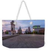 Clinton Square Sunrise Weekender Tote Bag