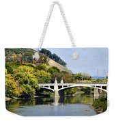 Clinton St. Bridge Prospect Mountain Binghamton Ny Weekender Tote Bag