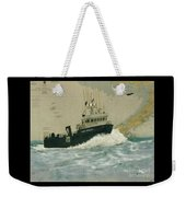 Clipper Endeavor Alaska Boat Nautical Chart Map Weekender Tote Bag