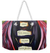 Cloak Of Reason Weekender Tote Bag