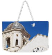 Clock And Tower Weekender Tote Bag
