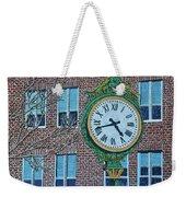 Clock At Port Warwick Weekender Tote Bag