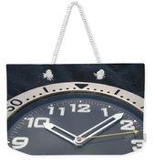Clock Face Weekender Tote Bag