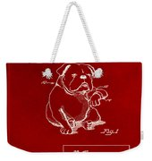 Clock For Keeping Animal Time Patent Drawing 1b Weekender Tote Bag