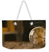 Clock - Id 16218-130706-9555 Weekender Tote Bag