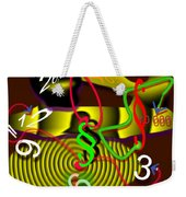 Clock Of Politics 2010 Weekender Tote Bag