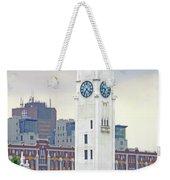 Clock Tower Montreal 2 Weekender Tote Bag