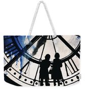 Clock Watching Weekender Tote Bag