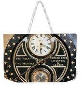 Clocking On Weekender Tote Bag