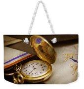 Clockmaker - Time Never Waits  Weekender Tote Bag