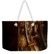 Clockmaker - Careful I Bite Weekender Tote Bag