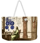 Clockmaker Weekender Tote Bag by Photo Researchers