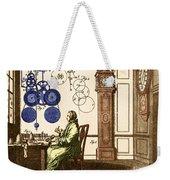 Clockmaker Weekender Tote Bag