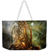 Clockmaker - The Day Time Stood Still  Weekender Tote Bag by Mike Savad