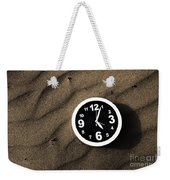 Clocks And Ripples Weekender Tote Bag