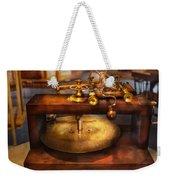 Clocksmith - The Gear Cutting Machine  Weekender Tote Bag