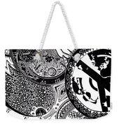 Clockwork Weekender Tote Bag