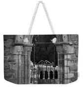 Cloister View Cong Abbey Cong Ireland Weekender Tote Bag