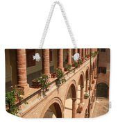 Cloistered Courtyard Weekender Tote Bag