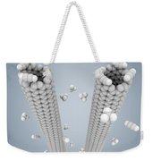 Cloning Carbon Nanotubes Weekender Tote Bag