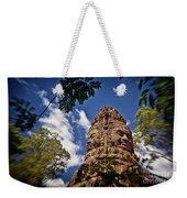 Cloning Out Tourists At Ta Prohm Temple, Angkor Archaeological Park, Siem Reap Province, Cambodia Weekender Tote Bag