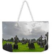 Clonmacnoise Monastery Weekender Tote Bag