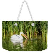 Close Call For The Cormorant Weekender Tote Bag