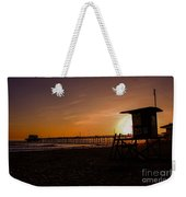 Close Of The Day At Newport Beach Weekender Tote Bag
