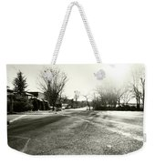 Close To Asphalt Weekender Tote Bag