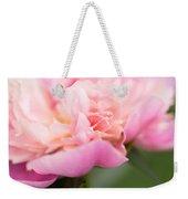 Close Up Macro Peony Flower Weekender Tote Bag
