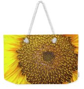 Close Up Of A Sunflower Head Weekender Tote Bag