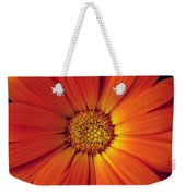 Close Up Of An Orange Daisy Weekender Tote Bag