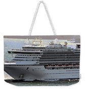 Close Up Of Diamond Princess Weekender Tote Bag
