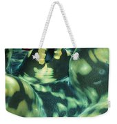 Close-up Of Giant Clam, Tridacna Gigas Weekender Tote Bag