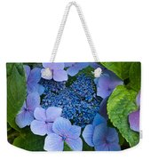 Close-up Of Hydrangea Flowers Weekender Tote Bag