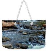 Close Up Of Reedy Falls In South Carolina Weekender Tote Bag