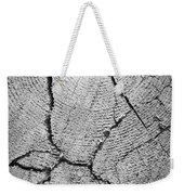 Close Up Of Tree Trunk Weekender Tote Bag