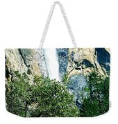 Close Up Of Waterfall  Weekender Tote Bag
