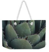 Close View Of An Agave Plant Weekender Tote Bag