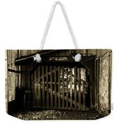 Closed Barn Weekender Tote Bag