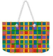 Closed Quadrilateral Lattice Weekender Tote Bag