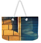 Closed Shop Door At Sunset Weekender Tote Bag