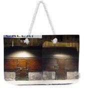 Closed Shop Stall Doors 2 Weekender Tote Bag