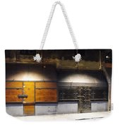 Closed Shop Stall Doors Weekender Tote Bag
