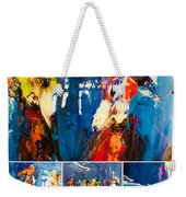 Closeup All Out Weekender Tote Bag