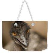 Closeup Of A Captive Emu Weekender Tote Bag