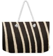 Closeup Of A Grevys Zebras Coat Equus Weekender Tote Bag