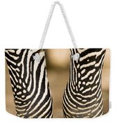 Closeup Of A Grevys Zebras Legs Equus Weekender Tote Bag