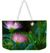 Closeup Of A Mimosa Bloom Weekender Tote Bag