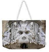 Closeup Of A Public Fountain In Dubrovnik Croatia Weekender Tote Bag